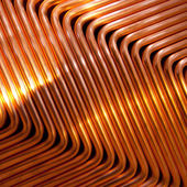 Red copper — Stock Photo