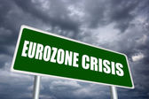 Eurozone crisis — Stock Photo