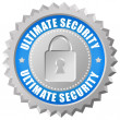 Постер, плакат: Ultimate security icon