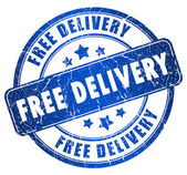Free delivery — Stock Photo