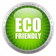 Foto de Stock  : Eco friendly glass icon