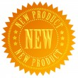 New product seal — Stock Photo