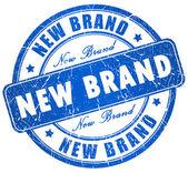 New brand stamp — Stock Photo