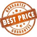 Best price guarantee — Stock Photo