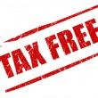 Tax free stamp - Foto de Stock