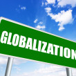 Stock Photo: Globalization sign