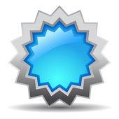 Niebieski wektor cena gwiazda — Wektor stockowy