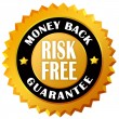 Stock Photo: Money back guarantee