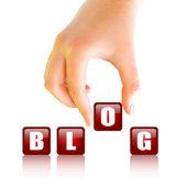 Blog budowlane — Zdjęcie stockowe