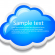 Vector cloud icon — Stock Vector #22014041