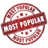 Selo mais popular — Foto Stock