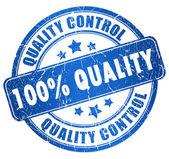 Selo de qualidade — Foto Stock