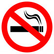 No smoking sign — Stock Vector #23163866