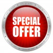 Vecteur: Vector special offer button