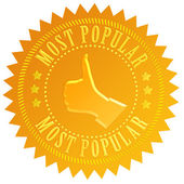 Most popular business seal — Stockfoto