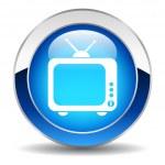 Vector tv button — Stock Vector