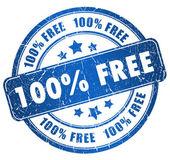 Grunge free stamp — Stock Photo