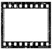 Vector grunge filmstrip icon — Stock Vector