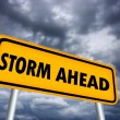 Stock Photo: Storm ahead