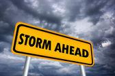 Storm ahead — Stock Photo