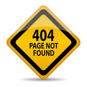 404 page not found — Stock Vector