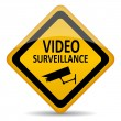 Royalty-Free Stock Vector Image: Vector video surveillance symbol