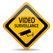 Vector video surveillance symbol — Stock Vector #25706135