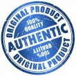 Authentic stamp — Stock Photo