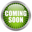 Coming soon icon — Stock Photo #29736765