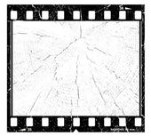 Old grunge film frame — Stock Photo
