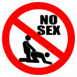 No sex vector sign — Stock Vector #29739369
