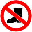 No shoes allowed — Stock Photo #29868423