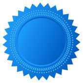 Vector star seal — Stock Vector