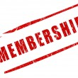 Membership stamp — Stock Photo