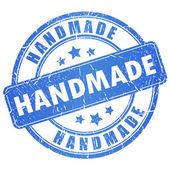 Vector handmade stamp — Stock Vector