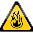 Stock Photo: Combustible materials