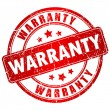Warranty vector stamp — Vector de stock