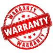 Warranty vector stamp — 图库矢量图片