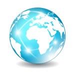 Earth globe icon — Stock Vector #35467045