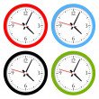 Vector clock — Stock Vector #38588861