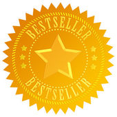 Bestseller icon — Stock Photo