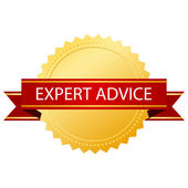 Expert advice icon — Stock Vector