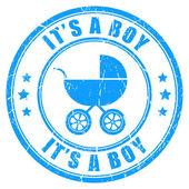 It's a boy — Stock Vector