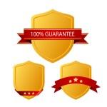 Guarantee icons — Stock Vector #45198027