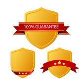 Guarantee icons — Stock Vector