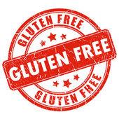 Gluten free stamp — Stock Vector