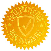 Best price protection — Stock Photo