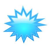 Bursting star shape — Stock Vector