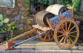 Traditional sicilian cart — Stock Photo