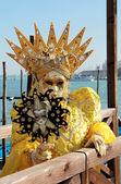 венеция маски портрет — Стоковое фото
